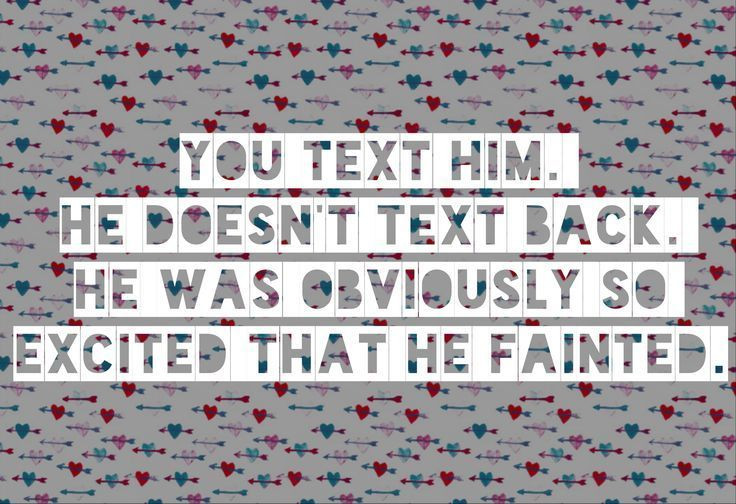 Unspoken rules of texting when dating