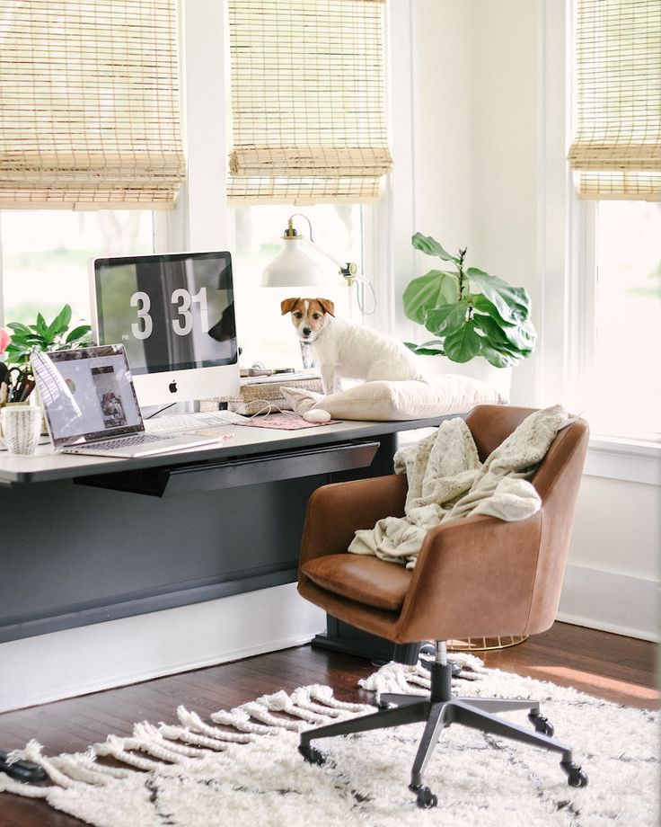 Jenna Kutcher's home office