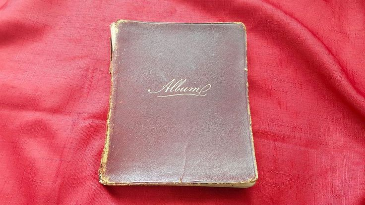 Antique 1906 Handwritten Journal, Notebook, Album, Diary Book - Bohemian Wit | eBay