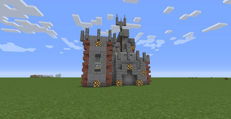 Small Castle with just enough space for Survival. Also, a little aesthetics to make it home.
