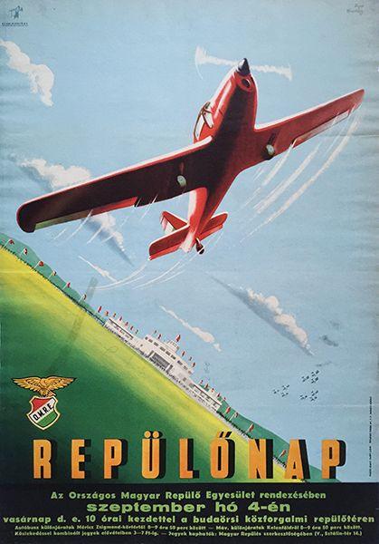 17._Macskassy_Fejes_-_Airshow_Aviation_day_1949_Hungarian_poster.jpg (419×600)
