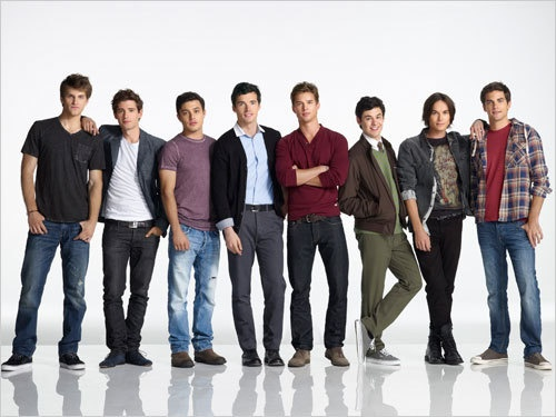 guys from pretty little liars...helloooo. Still think Ezra is #1