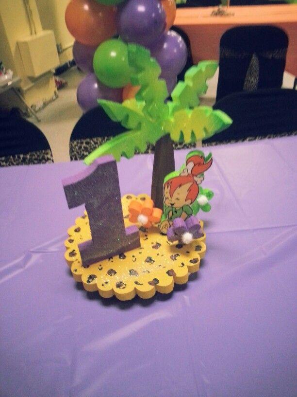 44 best images about flintstones pebbles party birthdays ...