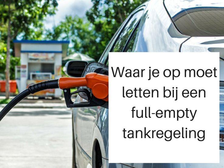 Volle tank, lege portemonnee: waar je op moet letten bij een full-empty tankregeling. Lees het op het blog van Sunny Cars.