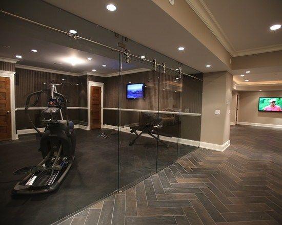 les 25 meilleures id es de la cat gorie style de salle de gym sur pinterest tenues de sport. Black Bedroom Furniture Sets. Home Design Ideas
