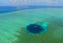 Η «τρύπα του Δράκου»: Η πιο βαθιά θαλάσσια τρύπα στον κόσμο που «διεκδικούν» Κίνα, Ταϊβάν και Βιετνάμ.