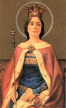 Jadwiga 1373/4 – 17 July 1399) was monarch of Poland from 1384 to her death.
