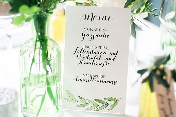 olive leaf wedding stationery