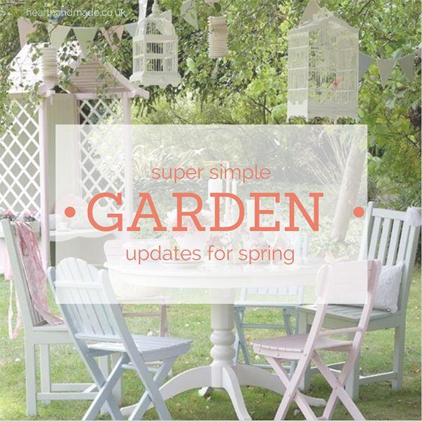 pastel painted garden furniture with cuprinol shades paint an easy garden furniture makeover