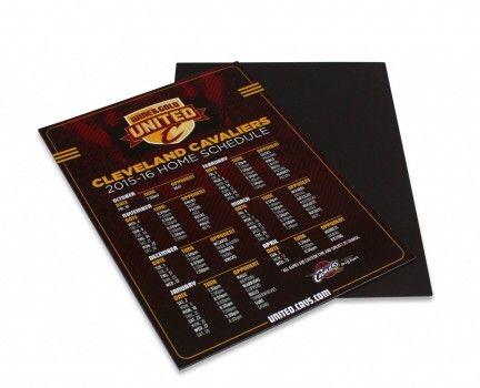 Promotional | Cleveland Cavaliers Magnetic Calendar