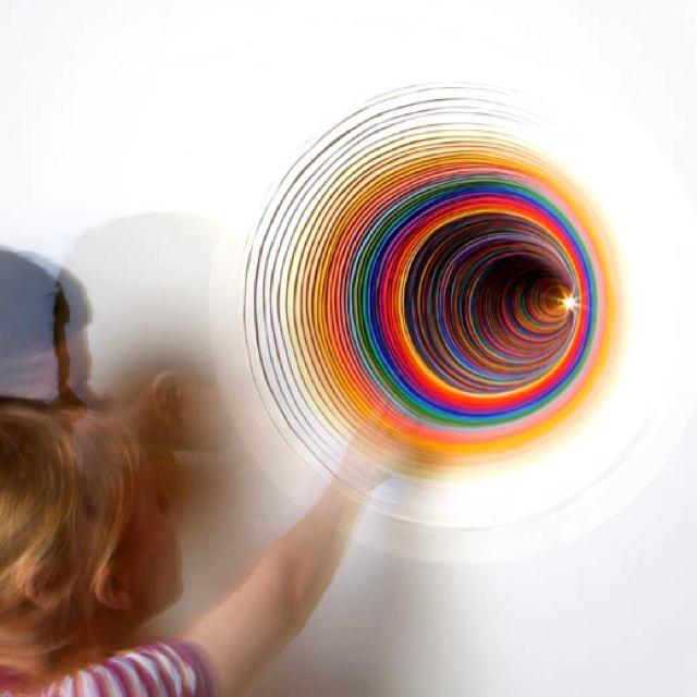 Jen Stark... Clever architectural colour through cut paper