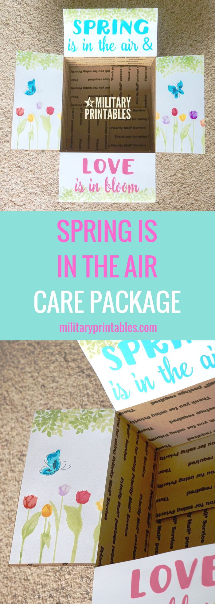 36 best adopt a soldier images on pinterest deployment care care package spring love flower colorful easter negle Images