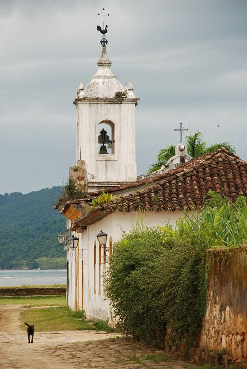 Cidade histórica de Paraty, estado do Rio de Janeiro, Brasil.  Fotografia: Breen's.