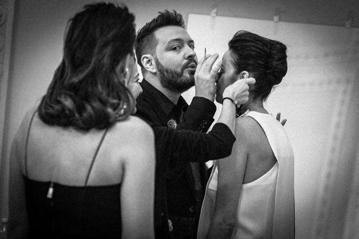 Alex Abagiu & Andreea Raicu #makeup #beautydistrict #elleawards