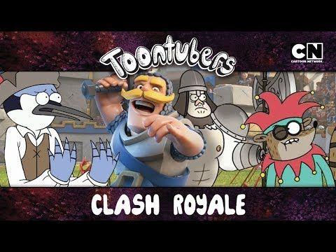 LA ARENA MÁS ÉPICA Y LEGENDARIA DE CLASH ROYALE… | Toontubers | Cartoon Network - VER VÍDEO -> http://quehubocolombia.com/la-arena-mas-epica-y-legendaria-de-clash-royale-toontubers-cartoon-network    Rey de Clash Royale, le ofrezco mis servicios. Lo protegeré y conquistaré las tres coronas, y le entregaré mi vida si es necesario. Lo juro por las antiguas consolas y las nuevas. Suscríbete al canal de Youtube de Cartoon Network LA: Visita la web de Cartoon Network LA