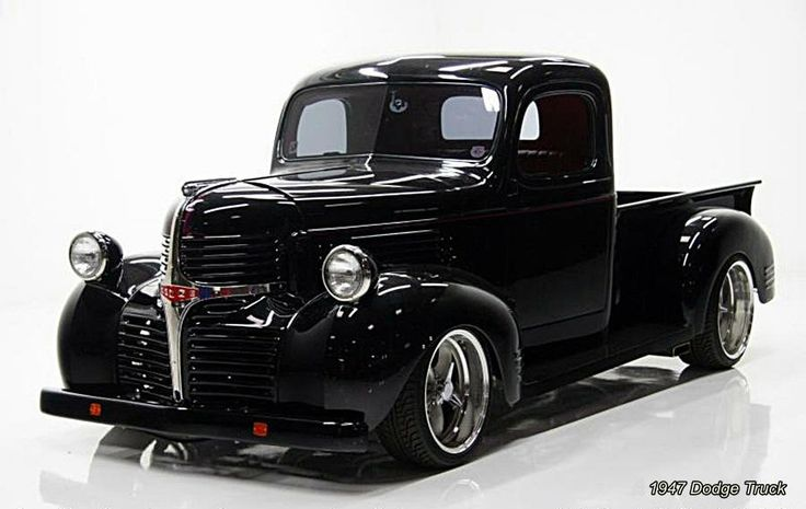 Cool, but could use some bigger rubber all around!! 40s dodge truck | SWEET 1947 DODGE TRUCK !!