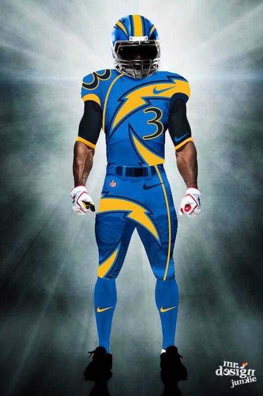 San Diego Chargers Concept Helmets | ... 10, 2014 527 × 794 San Diego Chargers helmet, uniform, logo concepts