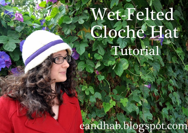You can make a wool hat in a few hours!