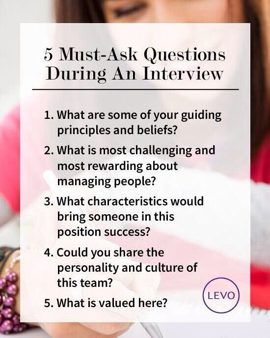 interview questions to ask interviewer