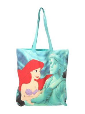 Disney The Little Mermaid Ariel & Eric's Statue Tote Bag