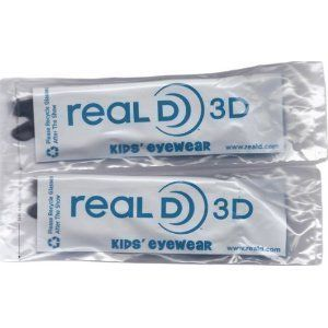 Kids Size Genuine Sealed RealD Circular Polarized 3D Glasses for RealD Theaters and Passive 3D TV's from Vizio, Toshiba, LG, Philips and JVC -2 Pairs by RealD. $9.95. Perfect for RealD Theaters and new Passive 3D Televisions from Vizio, LG and Toshiba.