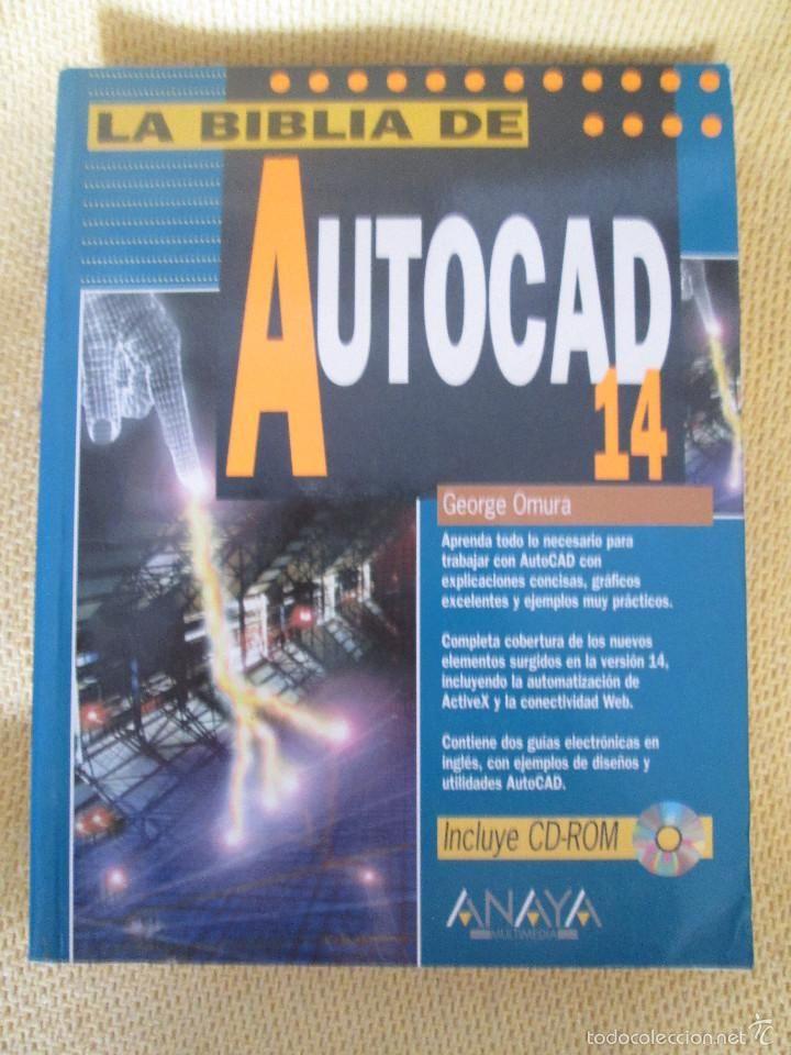 LA BIBLIA DE AUTOCAD 14 - EDITORIAL ANAYA