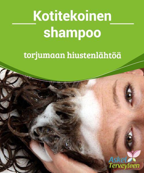 Kotitekoinen shampoo torjumaan hiustenlähtöä  #Hiustenlähtö voi johtua monista syistä #geneettisistä tekijöistä #stressiongelmiin.  #Luontaishoidot