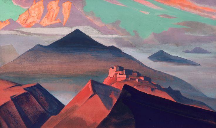Tent Mountain 1933 - Nicholas Roerich