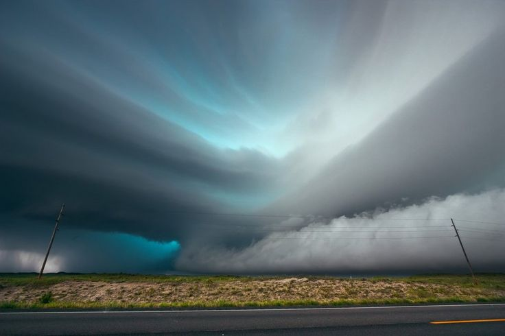 Incredible cloud formation in Texas