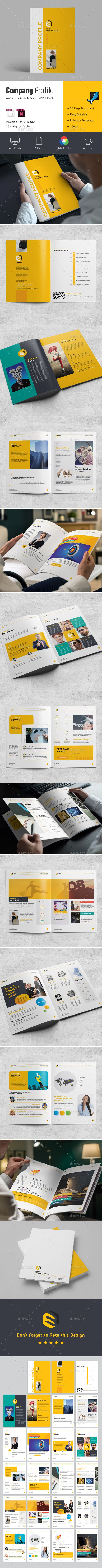 Company Profile #indesign brochure #informational • Download ➝ https://graphicriver.net/item/company-profile/21345777?ref=pxcr