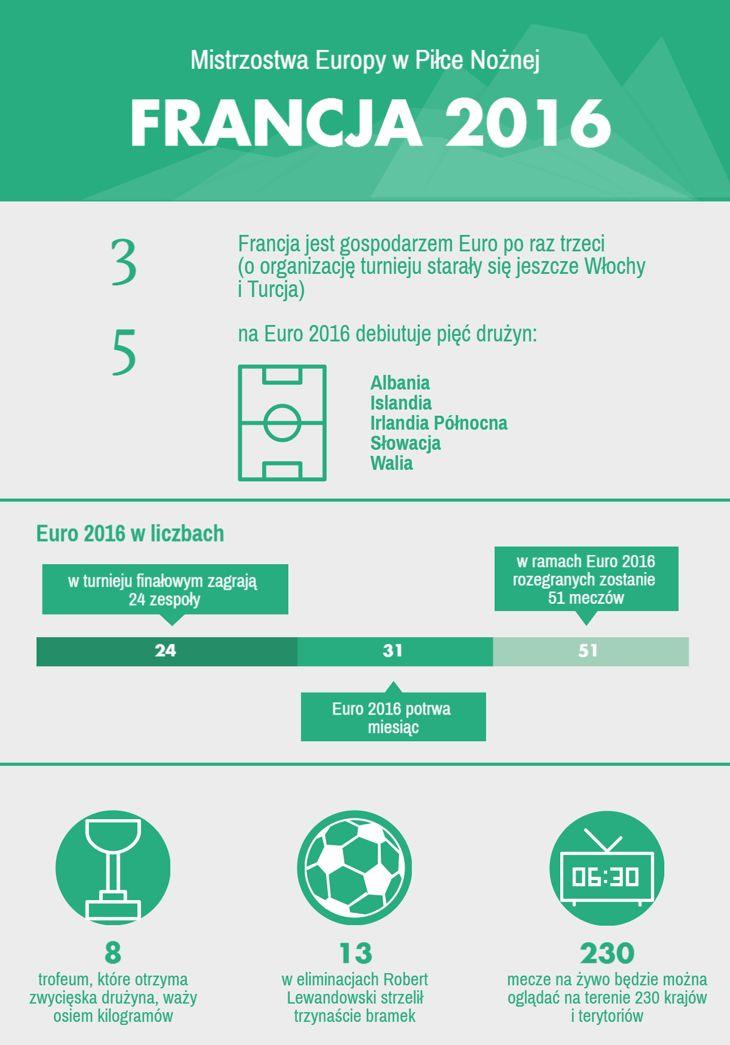 Tegoroczną edycję Mistrzostw Europy w Piłce Nożnej organizuje Francja. Mecz inauguracyjny rozegra reprezentacja gospodarzy i kadra Rumunii. Start sportowych emocji dziś, 10 czerwca, o godzinie 21.