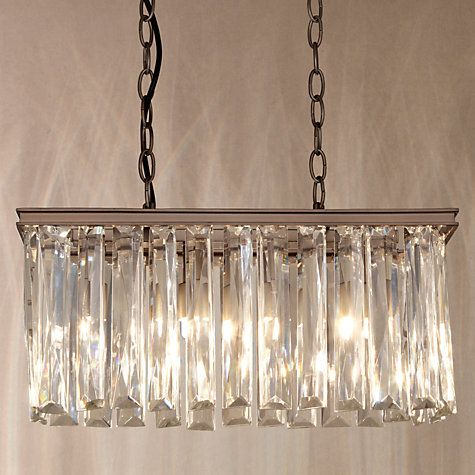Buy John Lewis Court Crystal Overdiner Ceiling Light Online At Johnlewis