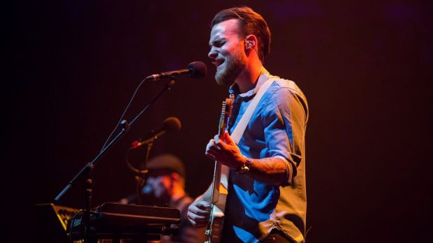 """""""I'm not much of a performer. I don't get the crowd going,"""" says Asgeir."""