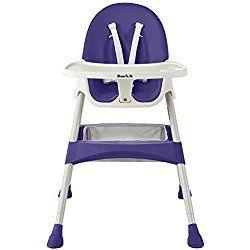 Dream On Me Jackson High chair In Plum Purple