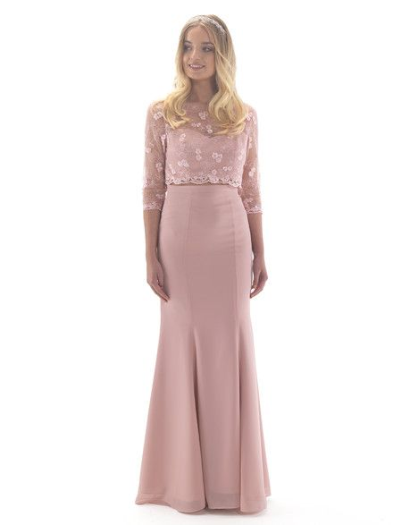 Stunning Linzi Jay two piece bridesmaid dress available in an array of 34 colours, perfect for any wedding summer or winter and any colour scheme. Available to view here on the Linzi Jay website; http://www.linzijay.com/two-piece-bridesmaid-dress and available to purchase with us.