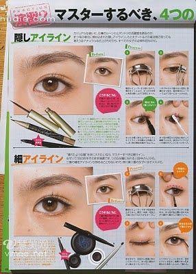 Asian eye –