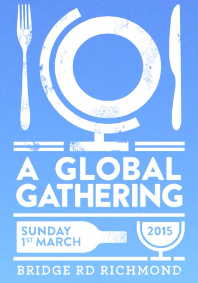 Global Gathering March 1st, take your tastebuds on journey around the globe!