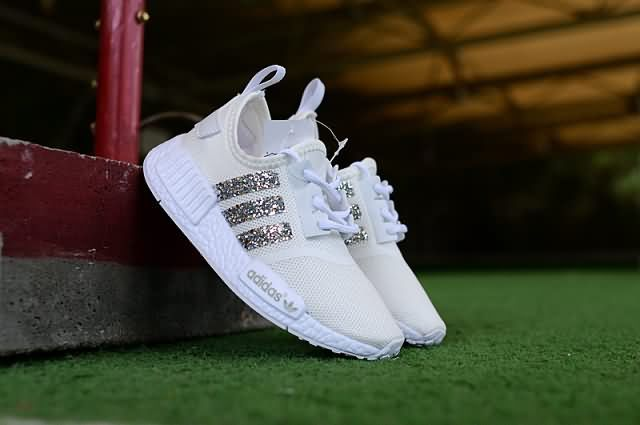 online retailer 40468 afc25 Cheap Adidas NMD R1 Kid 2018 shoes White Silver Only Price  42 To Worldwide  Free Shipping
