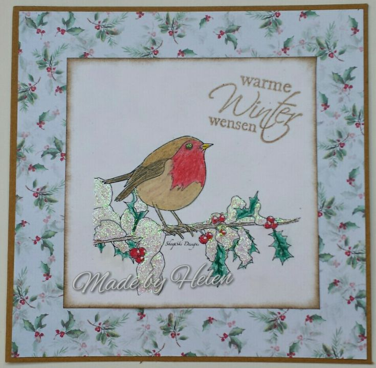 DT Inspiration - Winter Robin - https://sheepski-designs-challenges.blogspot.co.uk/