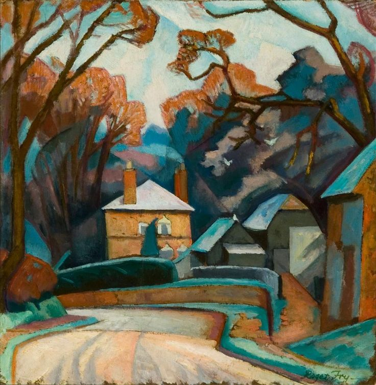 best post impressionism art ideas post winter landscape 1912 14 roger fry fry perfectly captures the heat in