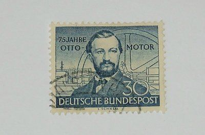Stamp Pickers Germany 1952 NA Otto Motor 30pf Scott #688 VFU $15+