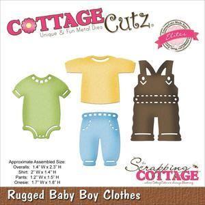 Cottage Cutz Elites Wykrojnik - Ubranka chłopczyka