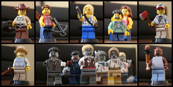 Walking Dead Lego #TheWalkingDead                                                                                                                                                                                 More