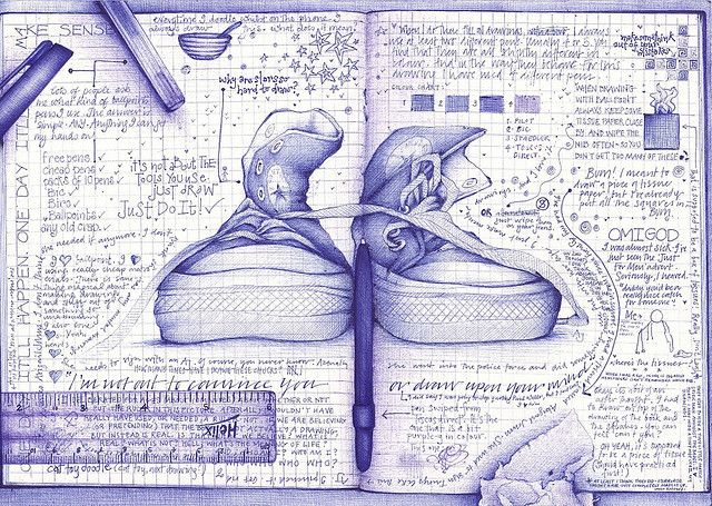 i'm not out to convince you or draw upon your mind by andrea joseph's illustrations, via Flickr