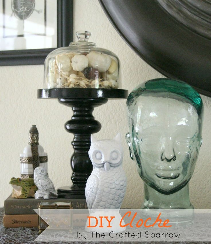 halloween cloche | today i am sharing a fun diy halloween cloche this