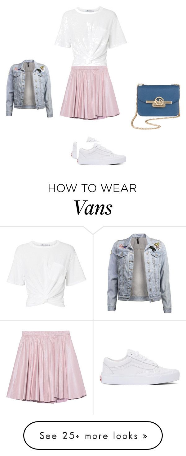 """Untitled #12830"" by explorer-14576312872 on Polyvore featuring Vans, T By Alexander Wang and 2NDDAY"