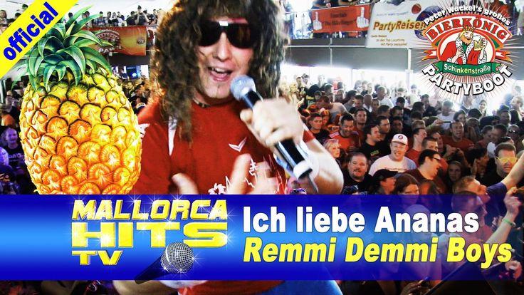 """Die Remmi Demmi Boys, live mit """"Ich liebe Ananas"""" auf dem Peter Wackel Bierkönig Partyboot 2014 in Köln. Party, Feiern bis zum abwinken. http://mallorcahitstv.de/2014/08/remmi-demmi-boys-ich-liebe-ananas-peter-wackels-bierkoenig-partyboot-2014/"""
