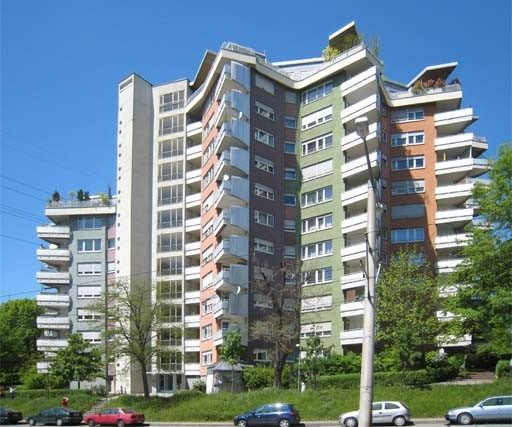 JKA -Romeo and Julia residential towers Hans Scharoun