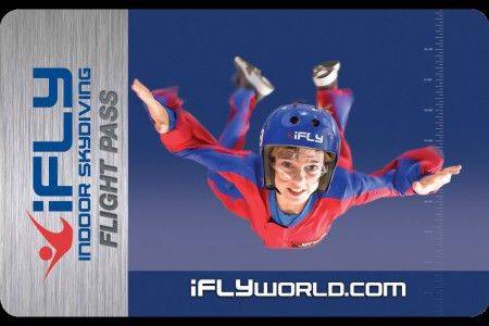 iFLY GIFT CARDS | Great Gifts + Special Days | Pinterest | Indoor ...