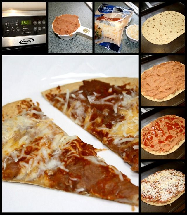 Mexican Pizza for One Recipe: Weight Watchers friendly lunch • Healthy Lifestyle Chicago Area Mom Blogger